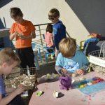 Atelier de peinture d'huîtres